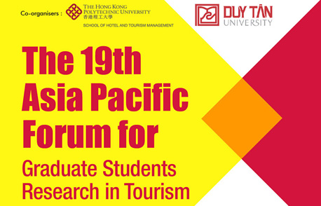The 19th Asia Pacific Forum for Graduate Students Research in Tourism